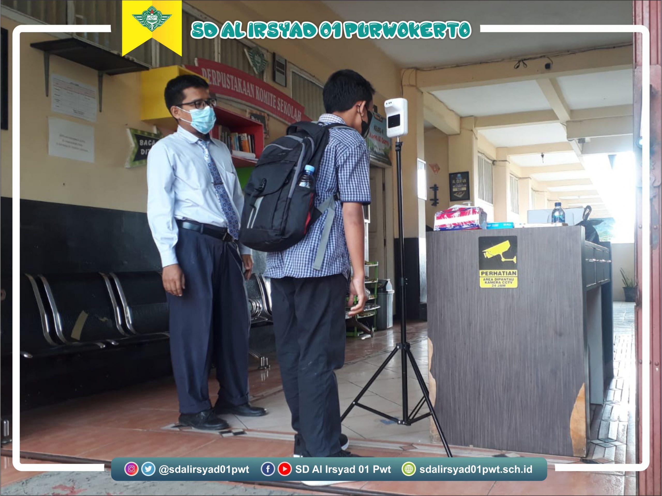 Hari pertama masuk sekolah siswa SD Al Irsyad 01 Purwokerto