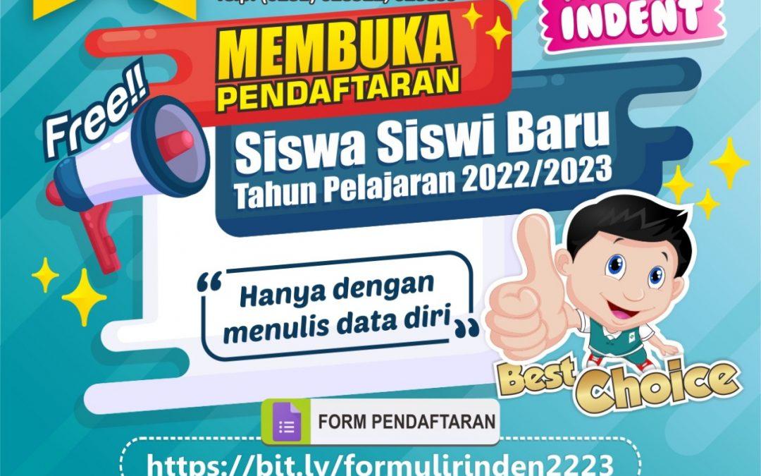 Formulir Inden Tahun Pelajaran 2022-2023
